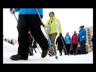 Скандинавская ходьба — новый вид активного отдыха нефтекамцев