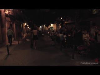 Pamela Sanchez (Welcome to Madrid! Public walk of shame)