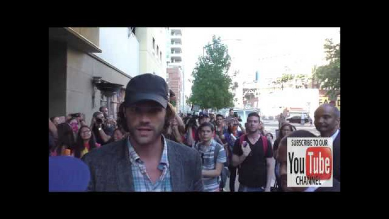 Jared Padalecki Talks about Being Scared of Ghots at Comic Con San Diego