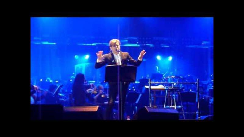 Би 2 Её глаза с симфоническим оркестром другой ракурс Красноярск 23.04.16