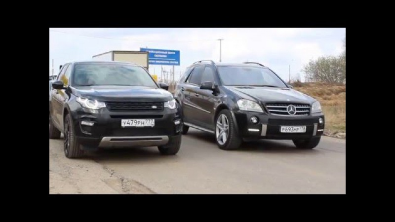 Как AVTOMAN снимал тест на Mercedes-Benz M-klasse AMG в Ангар Авто (заезд)