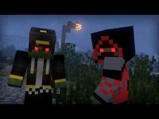 Зомби-Апокалипсис  ВСЕ ЧАСТИ!Minecraft Анимация