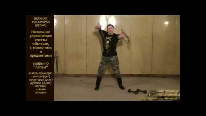 Удар РУБМЯ Упражнения и пляска с оружием Казачья шашка
