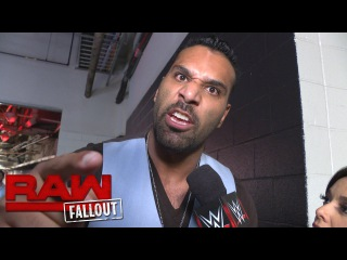 #My1 Jinder Mahal is back on Raw: Raw Fallout, August 1, 2016