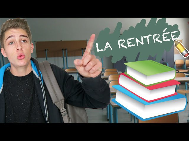 LA RENTRÉE 15 TYPES D'ÉLÈVES