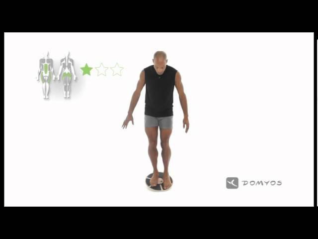Exercice 1 d'équilibre - Balance Board - Domyos