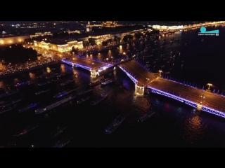 Гимн болельщиков Зенита в исполнении Дворцового моста