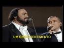 Luciano Pavarotti Eros Ramazzotti - Se Bastasse Una Canzone - TelediscoVideoArte