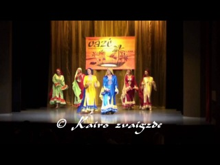 "Nubian (Nuba) dance (1). Dance school ""Kairo zvaigzde"""