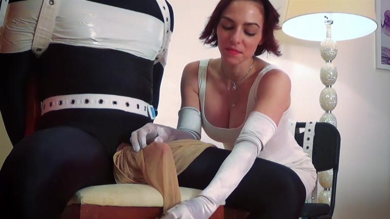 Tease And Thank You Starring Christina QCCP milking femdom mistress дрочка domination госпожа