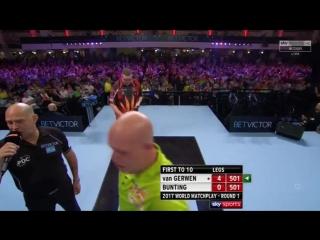 Michael van Gerwen vs Stephen Bunting (PDC World Matchplay 2017 / Round 1)