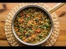 Турецкое блюдо из зелени портулак Semizotu yemeği