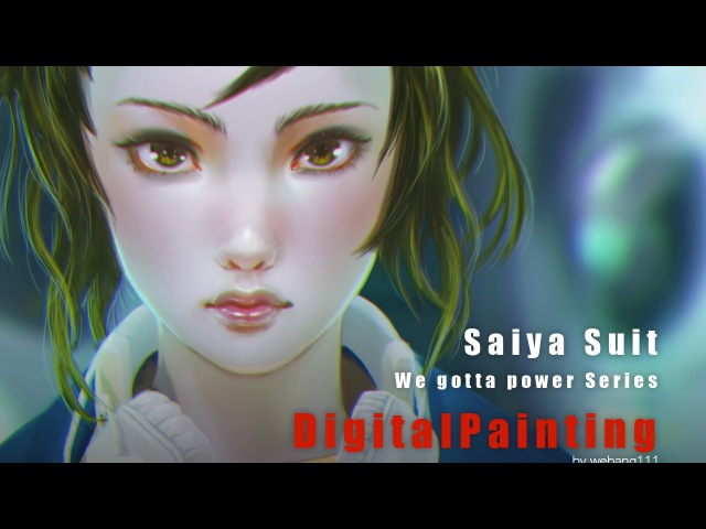 Saiya Suit [2nd][Digital Painting]