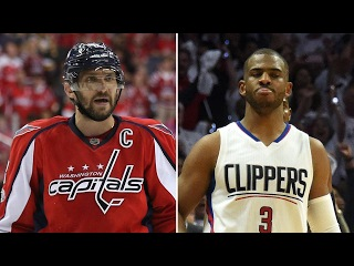 Who's a Bigger Disappointment? - Alex Ovechkin and Chris Paul's postseason troubles