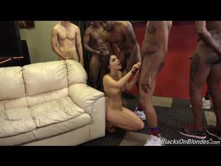 [BlacksOnBlondes] Valentina Nappi (1080p) Interracial, GangBang, Anal, Double Penetration, Big Tits, Brunette, Big Booty