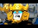 Мультфильмы для детей Лего Трансформеры, Роботы трансформер с Лего прикол. Transfor