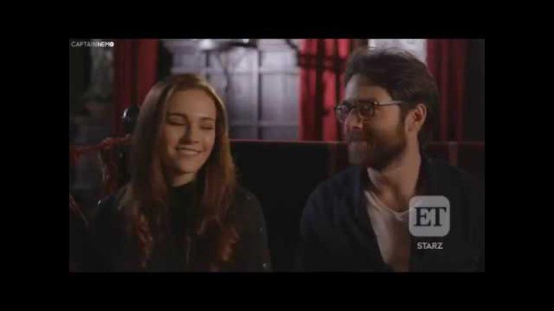 Sophie Skelton and Richard Rankin on Massive Developments for BreeRoger's Relationship [RUS SUB]