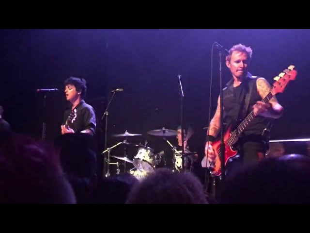Green Day - Disappearing Boy @ Rough Trade, Brooklyn, NYC [10/7/16]