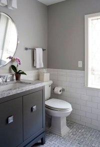 gray bathroom walls - 736×1088