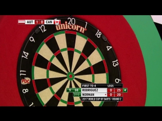 Austria vs Canada (PDC World Cup of Darts 2017 / Round 2)