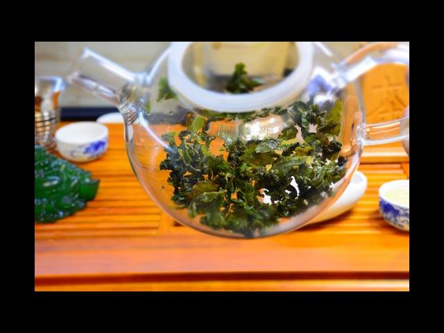 Те Гуань Инь Улун способ заваривания чая