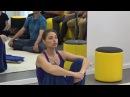 Семинар от Рьяны Крошки ребозо энергетический массаж полотном