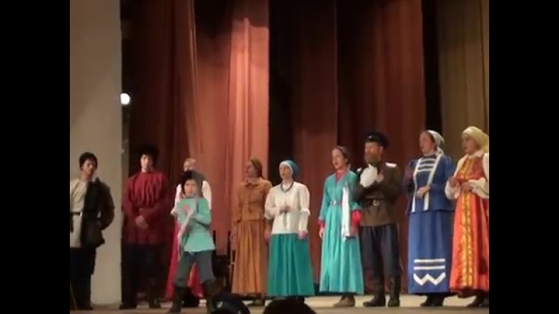 Ансамбль казачьей песни Багренье, фестиваль Дмитриев День 2011