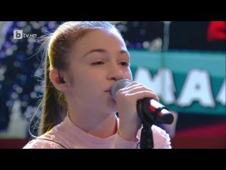 """Krisia Todorova: Singing """"Thelo na me nioseis"""" by Nikos Vertis"""