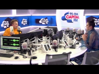 Roman kemp tried setting up will manning with #capitalstb's dua lipa, but she had about % of it