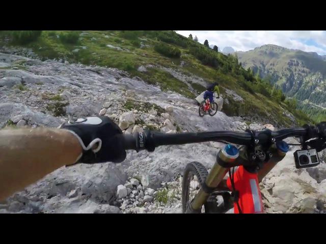 A Mountain Biker's Dream Dolomites Descent My POV w Richie Schley EP 7