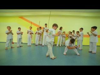 "Детский Капо-лагерь"" Acampamento Infantil Bananeira 2016"" Capoeira Samara"