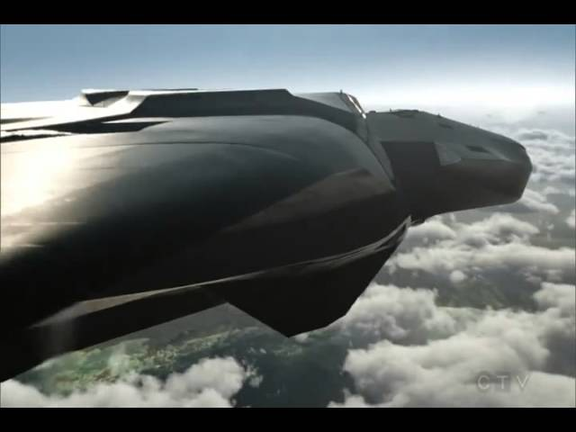 Marvel's Agents of S.H.I.E.L.D - New Airbus : Zephyr One