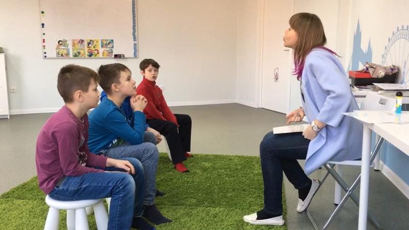 Методика I Love English, курс I Can Read, урок 4-2 часть 2 г.Новосибирск, школа LESKids