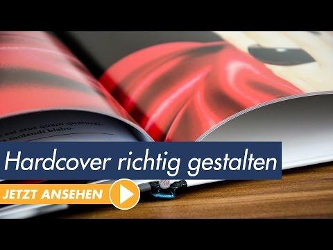 InDesign Tutorial Buch mit Hardcover gestalten und drucken Unboxing