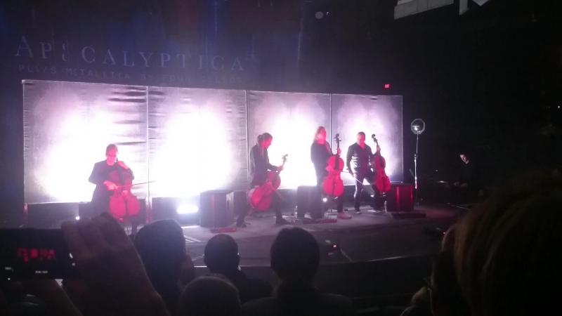 Apocalyptica @ NYCB Theatre at Westbury NY 1