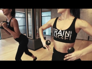 Train like an angel: work it with lais & megan roup of the sculpt society!