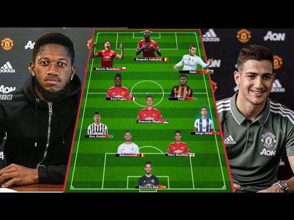 DIOGO DALOT FRED Deal Done ✔ How Man United Scared Lineup Next Season 2018 2019★
