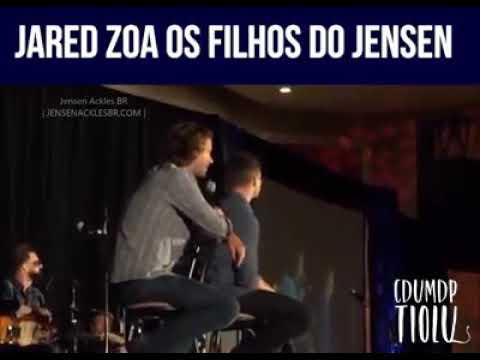 Jared zoa os filhos do Jensen kkkk