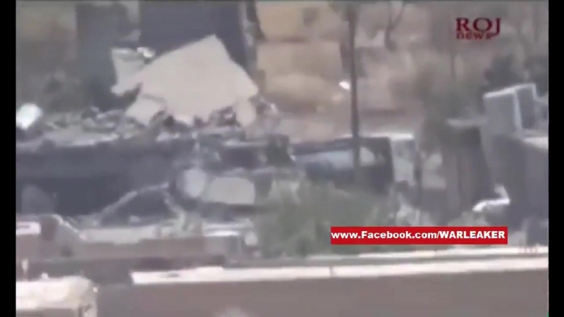 Second clip Another PKK sniper fires at an ISIS petrol tanker in Shingal town Watch the distance he took that shot from