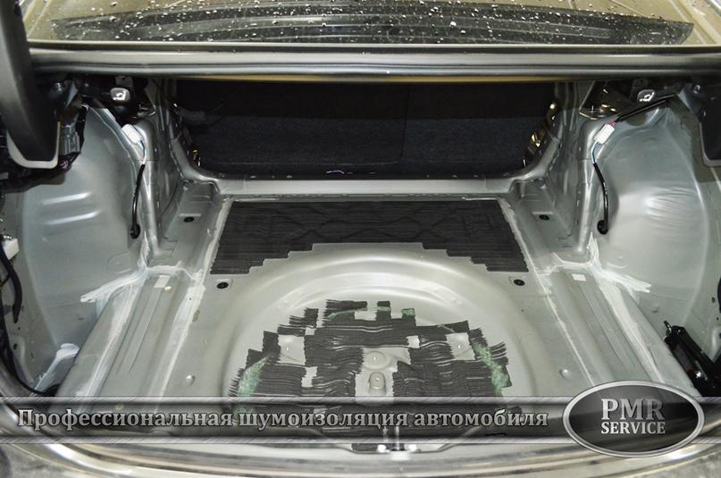 Шумоизоляция Mazda 6, изображение №11
