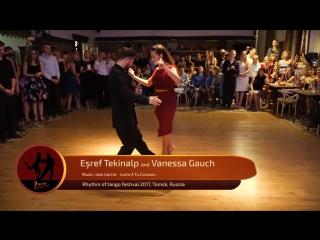 Esref Tekinalp and Vanessa Gauch 1-4, RTF 2017, Tomsk