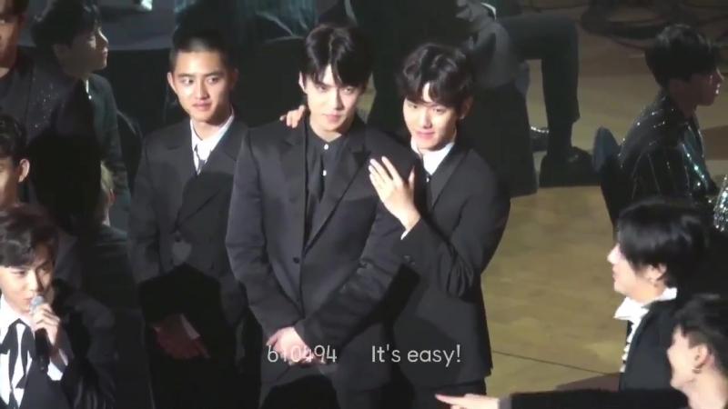 Asia Artist Award [SEBAEKBAEKHUN] BaekhyunSehun