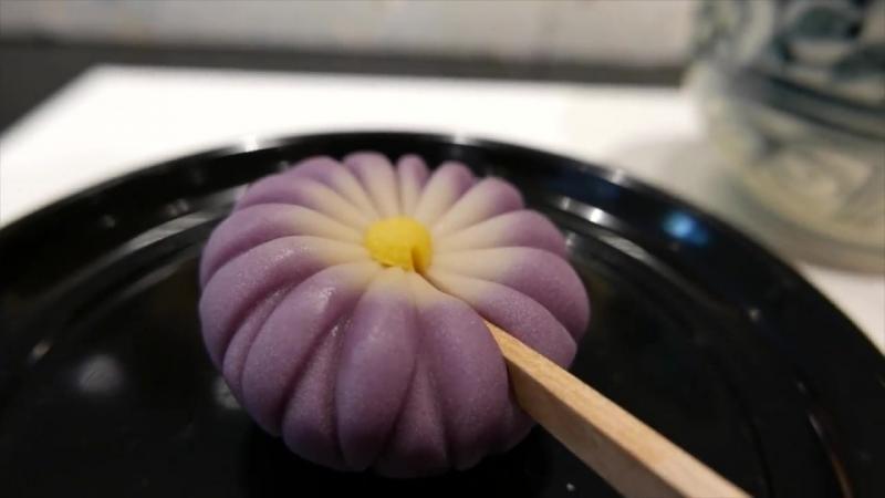 Японская конфетка WAGASHI Традиционные сладости Токио Япония