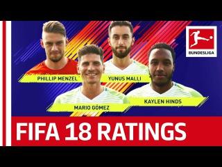 EA SPORTS FIFA 18 - VfL Wolfsburg Players Rate Each Other: Mario Gomez, Yunus Malli & More