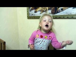 """Девочка читает стих - """"Бабушка, вызови врача"""" - Video Dailymotion"""