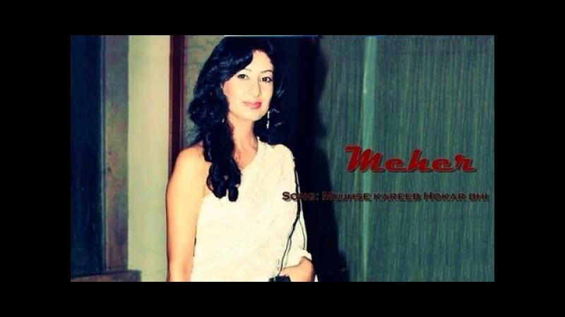 Mujhse Kareeb Hokar Bhi Song Meher TV Serial Doordarshan National DD1