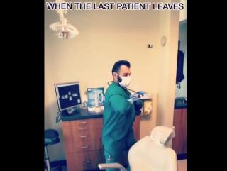 Когда закончилась смена  #видео #юмор #стоматоло... Стоматология Казани