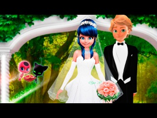 Miraculous Ladybug Wedding Marinette and Adrien Speededit