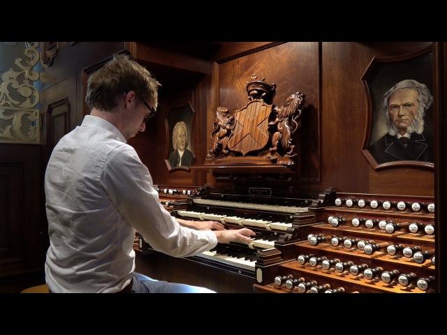 Hallelujah G F Händel Gert van Hoef in de Nieuwe Kerk Katwijk
