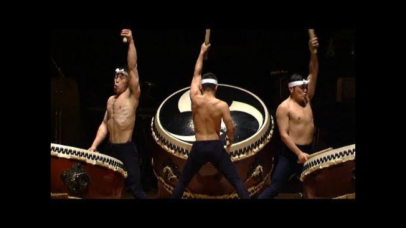 Kodo - O-Daiko - HD (japanese drummers - Taiko - tambours géants Japon)